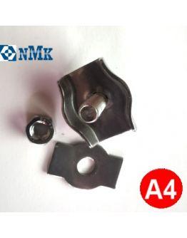 Зажим для троса 2 мм одинарный нержавеющий Арт. 8330