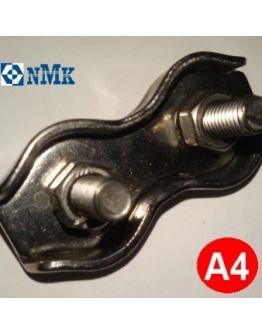 Зажим для троса 8 мм двойной (duplex) нержавеющий Арт. 8331
